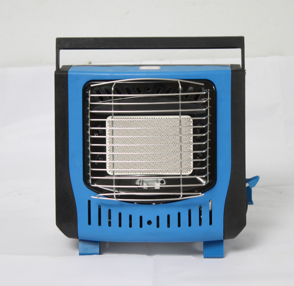 Blue Color Portable Gas Heater For Outdoor Activities In