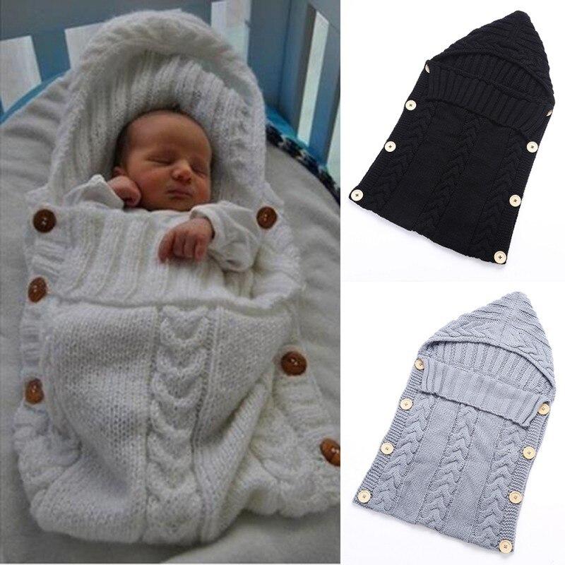 2018 Toddler Newborn Baby Boys Girls Blanket Swaddle Sleeping Bag Sleep Sack Stroller Wrap
