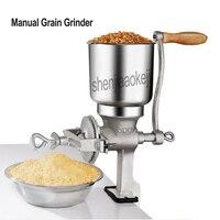 Hand cranked Grain Grinder Corn Nut soy peanuts rice Manual Graining machine Restaurant Cereals Grinder 1pc