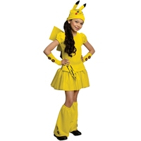 Girls Pikachu Costume