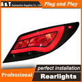 Estilo do carro CONDUZIU A Lâmpada de Cauda para Hyundai Accent Solaris Verna DRL + Turn Signal Luz Traseira Lanternas Traseiras + Freio + reversa auto Acessórios