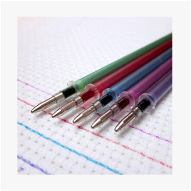 10pcs színes vízzel törölhető toll újratöltése keresztkötés varrás festékszövet vízben oldódó toll jelölő toll DIY tűzőszerszámok S
