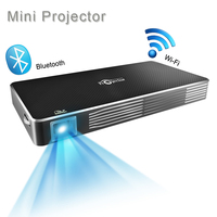 Mini Android Projector Pico Portable DLP Wifi Blutooth Home Cinema Projector Support 1080P For Home Theater