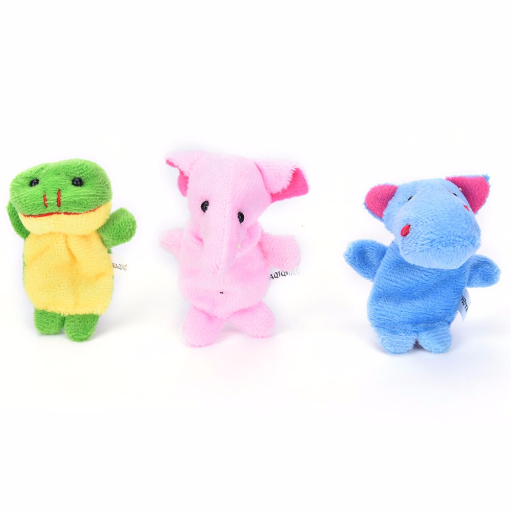 10-PcsLot-Cute-Hand-Toy-Cartoon-Animal-Finger-Puppet-Biological-Animal-Finger-Puppet-Plush-Toys-For-Childrens-Favor-Dolls-2