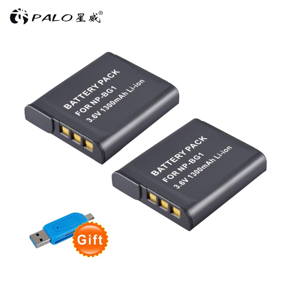 Digital Batterien Realistisch 2 Stücke 1300 Mah Np-bg1 Np Bg1 Npbg1 Kamera Batterie Für Sony Dsc W240 W230 H7 W300 H10 H50 H70 T110 Hx7 Hx10 Hx30 Wx10 H55 Hx9 T290