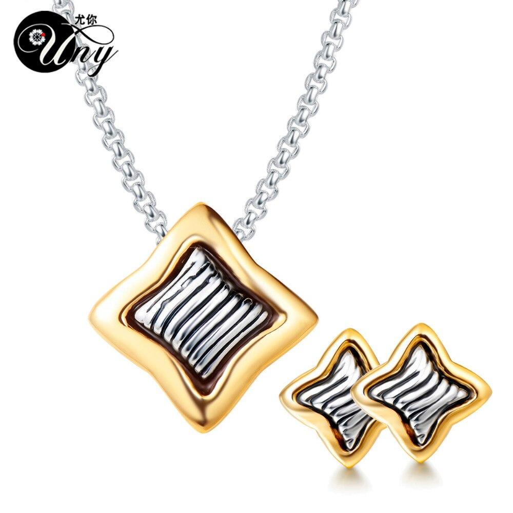 UNY bijoux ensembles Designer inspiré étoiles bijoux ensembles de mode femmes bijoux ensemble Antique à la mode de noël bijoux ensemble
