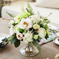 Bowyer современные декоративные искусственные цветы для дома, модные классические свадебные украшения