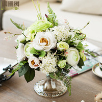 Bowyer modern whole home decoration artificial flower fashion classical wedding decoration