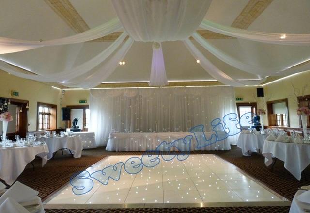 Wedding 10 pieces Ceiling Drape Canopy Drapery for decoration wedding fabric 0.7m*16m per & Wedding 10 pieces Ceiling Drape Canopy Drapery for decoration ...