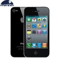 Unlocked Original Apple Iphone4 Mobile Phone 3 5 Retina IPS 512MB RAM 16GB ROM Refurbished Phone