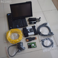for bmw diagnosis icom next with hdd 500gb expert mode software installed in laptop x200t ready to use best quality