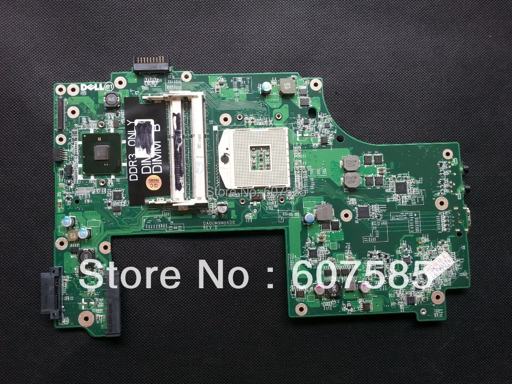 For DELL Inspiron Series N7010 Laptop Motherboard Mainboard DDR3 GKH2C DA0UM9MB6D0 Free shipping for dell inspiron series n5110 motherboard mainboard g8rw1 tested free shipping