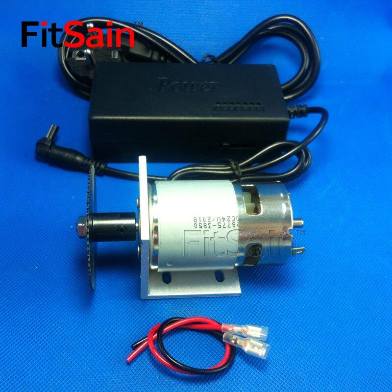 FitSain-775 moteur DC24V 8000 RPM 60mm lame de scie circulaire pour le bois scie circulaire mini scie circulaire à table électrique sciage Avec support puissance