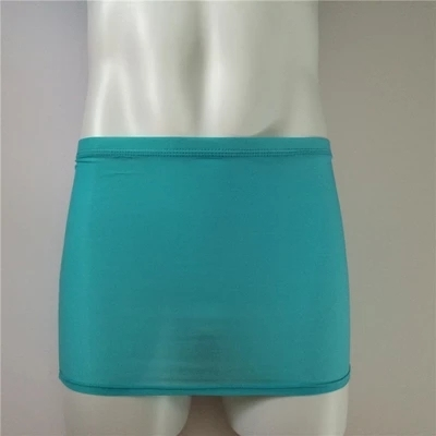 Sexy translucent ultra-thin breathable men and women style miniskirt interior with the aid of the perspective of the temptation