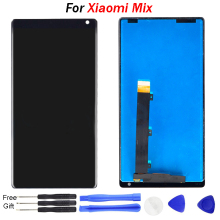 For Xiaomi Mi Mix LCD Display Touch Screen Digitizer Assembly With Frame For Xiaomi Mi MIX 2 LCD Replacement Parts 100% tested 10pcs 100% tested original new lcd display with touch screen digitizer assembly full sets for xiaomi mi 4 mi4 m4 free shipping