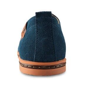 Image 3 - יוקרה Mens נעלי מזדמנים נעלי עור נעלי קיץ נעלי אוקספורד איטלקי סניקרס גברים חדש אביב דירות Zapatos Hombre Vestir