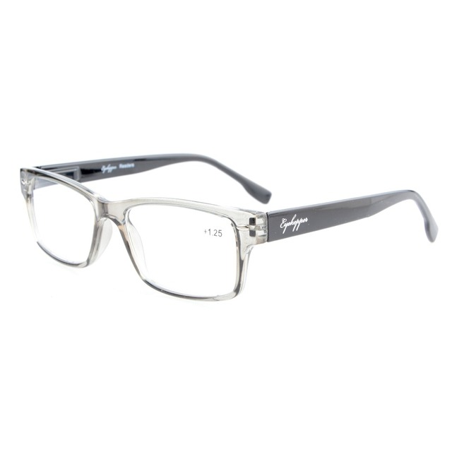 9a3d39938b20 R108 Eyekepper Readers Stylish Spring Hinges Reading Glasses  +0.5 0.75 1.0 1.25 1.5 1.75 2.0 2.25 2.5 2.75 3.0 3.5 4.0