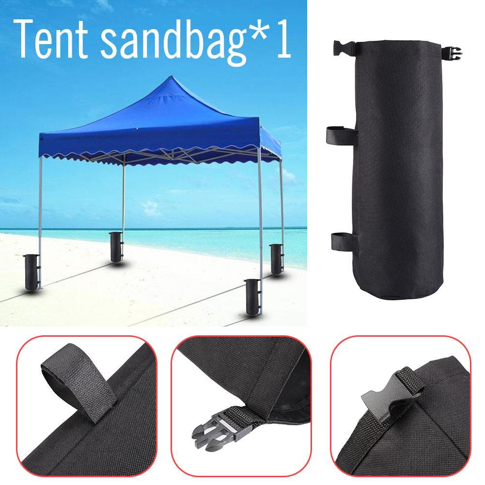 New High Quality Black Sturdy Weight Bags Canopy Strong Weights Sand Bags Upgraded Huge Capacity Portable Anchors Portable 2019 in Tent Accessories from Sports Entertainment