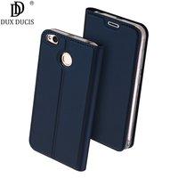 Dux Ducis PU Flip Leather Case For Xiaomi Redmi 4X Case Card Pocket Prime Wallet Phone