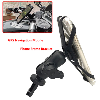 Navigation Phone Holder For HONDA CBR600RR CBR 600RR 2007-2017 Motorcycle Accessories GPS Navigation Bracket 16-19mm image