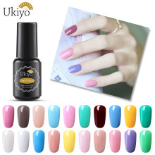 Verniz uv do verniz do verniz do verniz do verniz do verniz do gel da etapa de ukiyo 8ml um esmalte do gel da etapa(China)