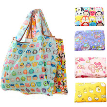 53dfd966c Cartoon Tsum Tsum Hello Kitty Big Foldable Reusable Shopping Bags My Melody  Eco Shopper Bag Large