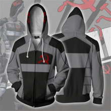 Game Borderlands Assassin Zer0 zipper hoodie Cosplay hoodie men and women casual sports sweater anime costume brand new