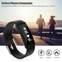 S6 Fitness Tracker Krokomierz Uśpienia Monitora IP68 Wodoodporna Tętno Tlenowa Krwi Running Sport Krok Licznik Zegarek Tracker