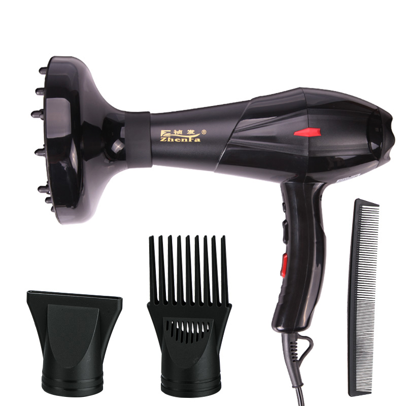 ФОТО 2016 220V 3 Speed Settings Hot/Cold Hair Blow Dryer Professional for Salon with Air Collection De Blue light anti-itch