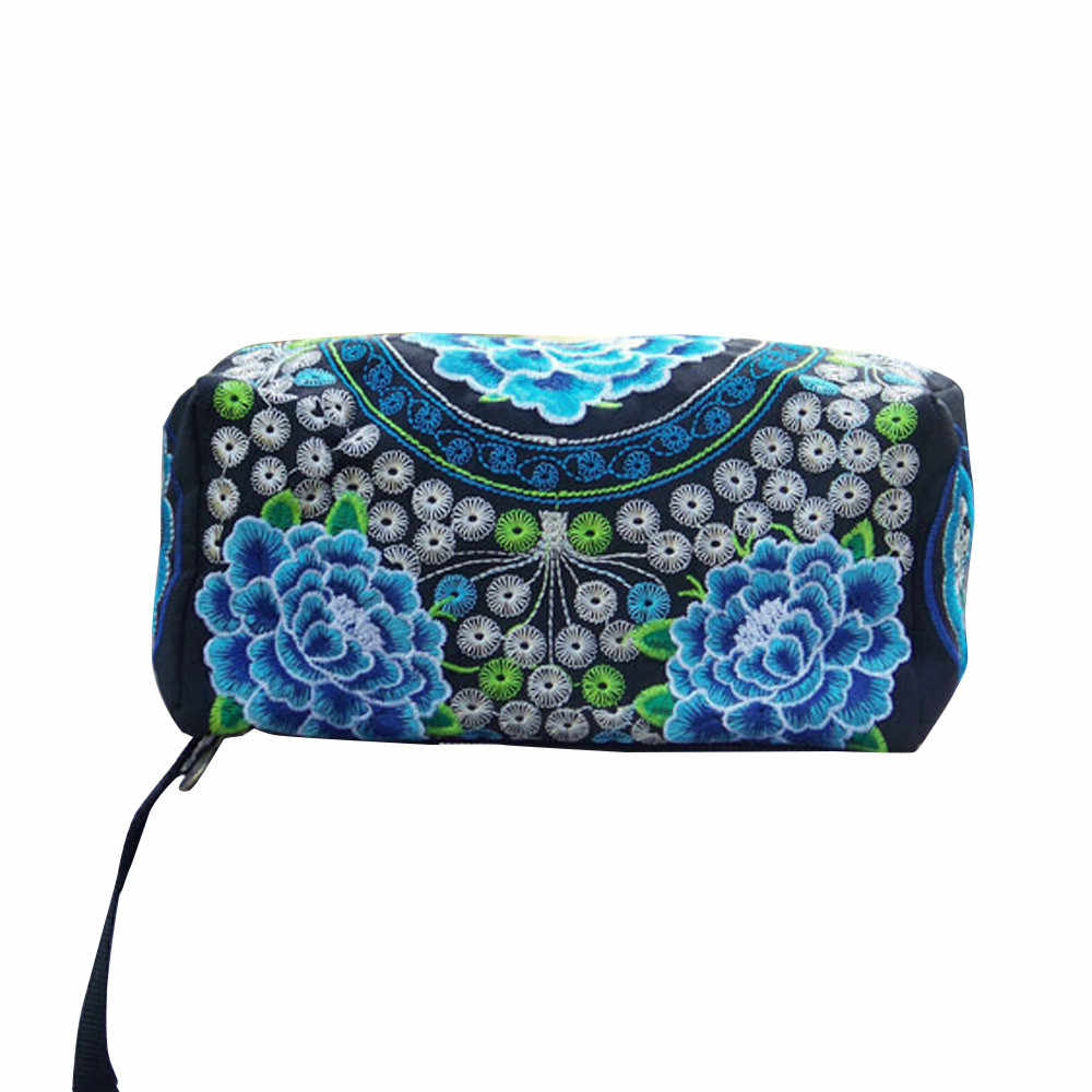 Maison Fabre womens wallet Coin Purse Ethnic Handmade Embroidered Wristlet Clutch Bag Vintage Purse Drop shipping CSV   O1022#25