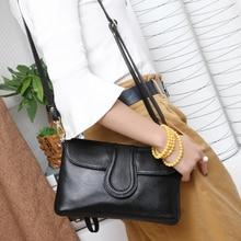 цена BAQI Women Shoulder Bag Handbag Genuine Cow Leather  2019 Summer Fashion Lady Crossbody Bag for Women Messenger Bag Purse Girls в интернет-магазинах