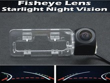 1080P Fisheye Lens Trajectory Tracks Car Rear view Camera FOR Geely Emgrand EC718 Sedan 2009 2010 2012 Reverse Parking