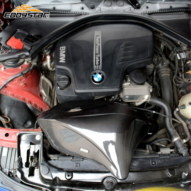 For 2013 2015 Bmw F30 F35 320i 328i N20 High Performance Eddystar Carbon Fiber Cold Air Intake