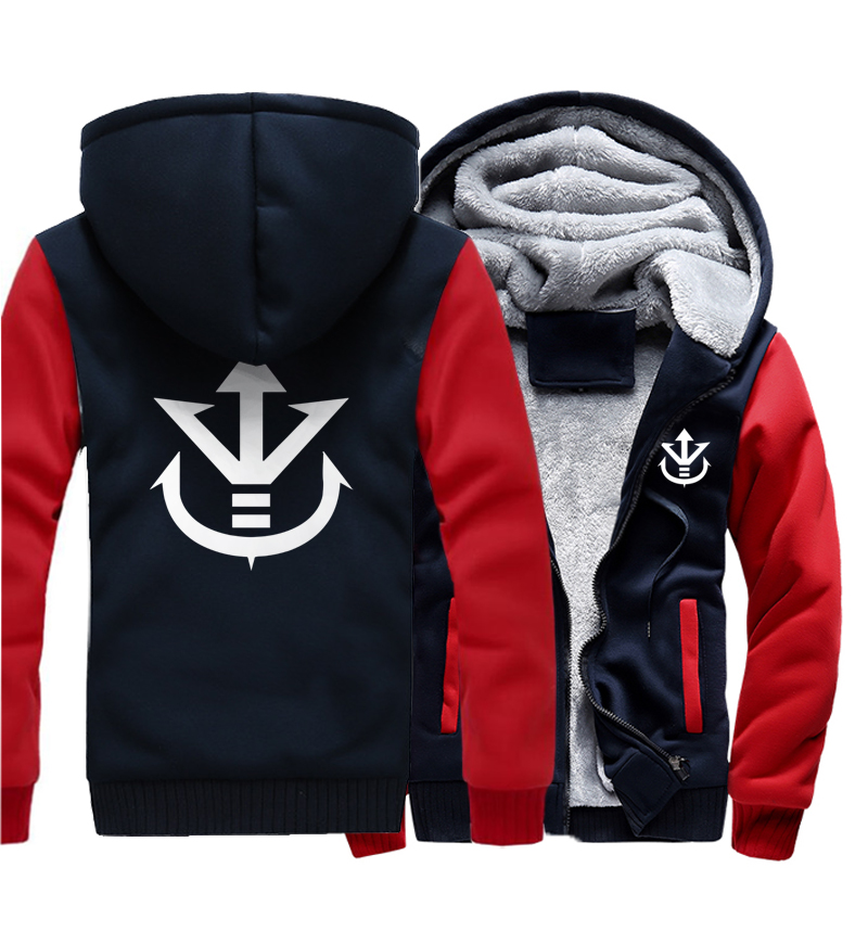 Men's Clothing Just Hoodies Funny Dragon Ball Son Kpop Hooded Men Wool Liner Camouflage Color Fleece Thicken Zipper Jacket Coats 2018 Male Tracksuit We Take Customers As Our Gods
