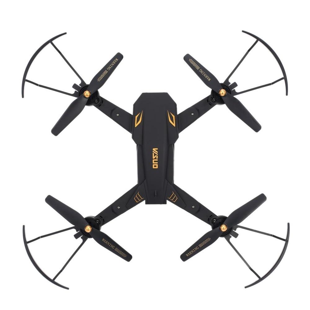 VISUO XS809S RC Drone WiFi FPV Wide Angle 720P Camera Altitude Hold Foldable Headless Mode