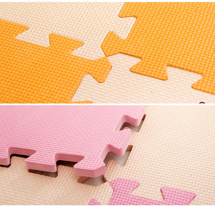 Baby EVA foam puzzle play floor mat, interlocking tiles  Shipping from Moscow RU 32cm and 62cm
