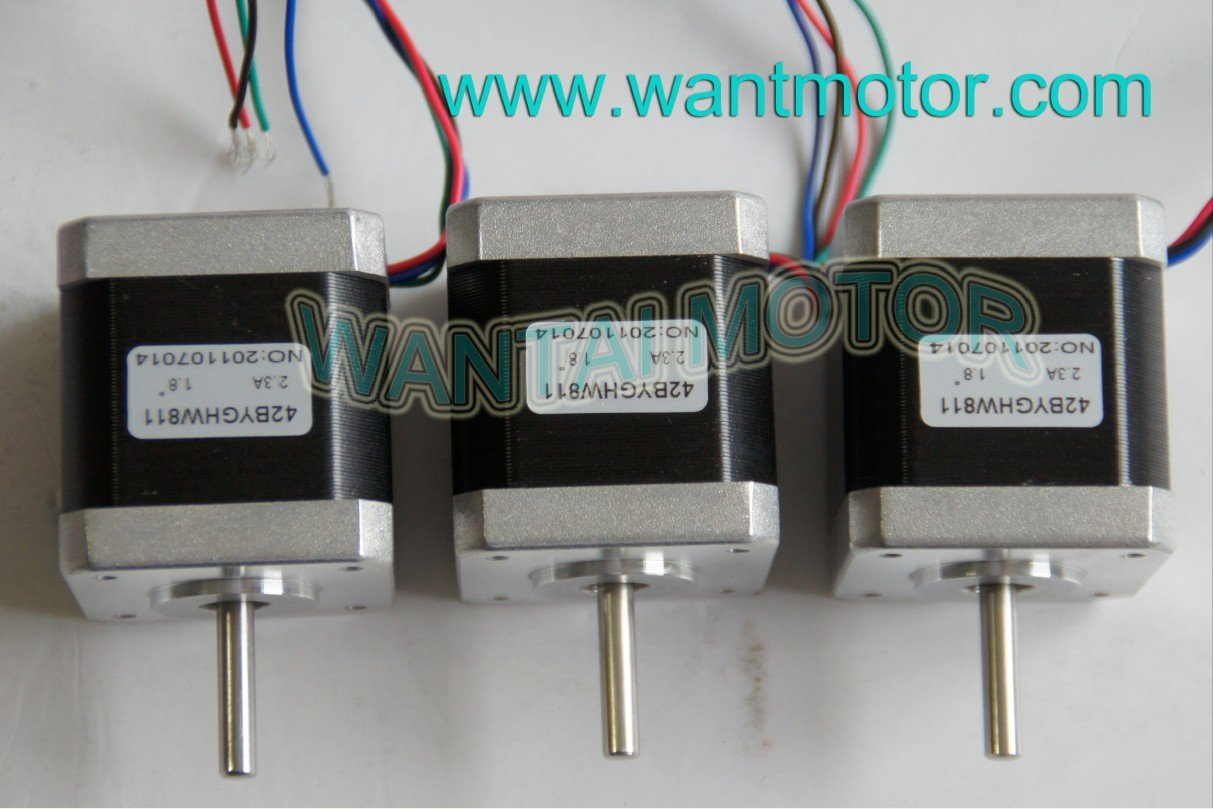 High 3 PCS Nema 17 Stepper Motor 70OZ-IN,2.5A CNC Cutting &Mill high 3 pcs nema 17 stepper motor 70oz in 2 5a cnc cutting