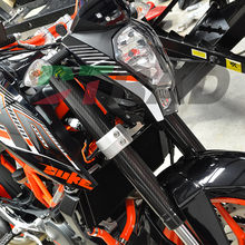 DTRAD Ktm 125-450SX/SXF/EXC/EXCF/XCF/XCW 2008-2018 フォークラッププロテクターアッパー/低炭(China)