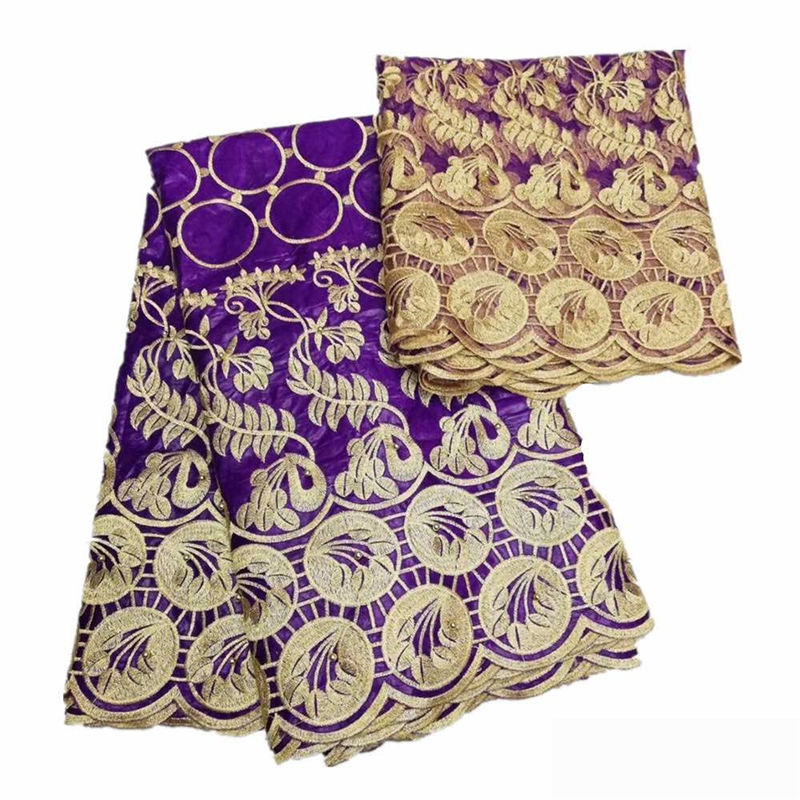 2018 new arrival purple high quality Bazin riche Getzner set lace fabric guinea brocade fabric nice looking Bazin lace fabric2018 new arrival purple high quality Bazin riche Getzner set lace fabric guinea brocade fabric nice looking Bazin lace fabric