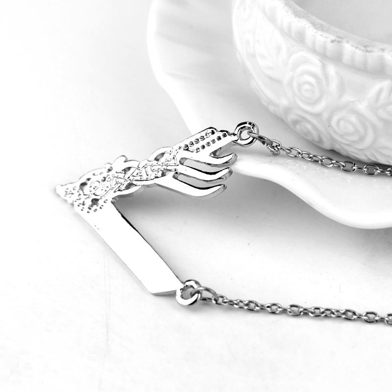 Vikings Logo Pendant Necklace