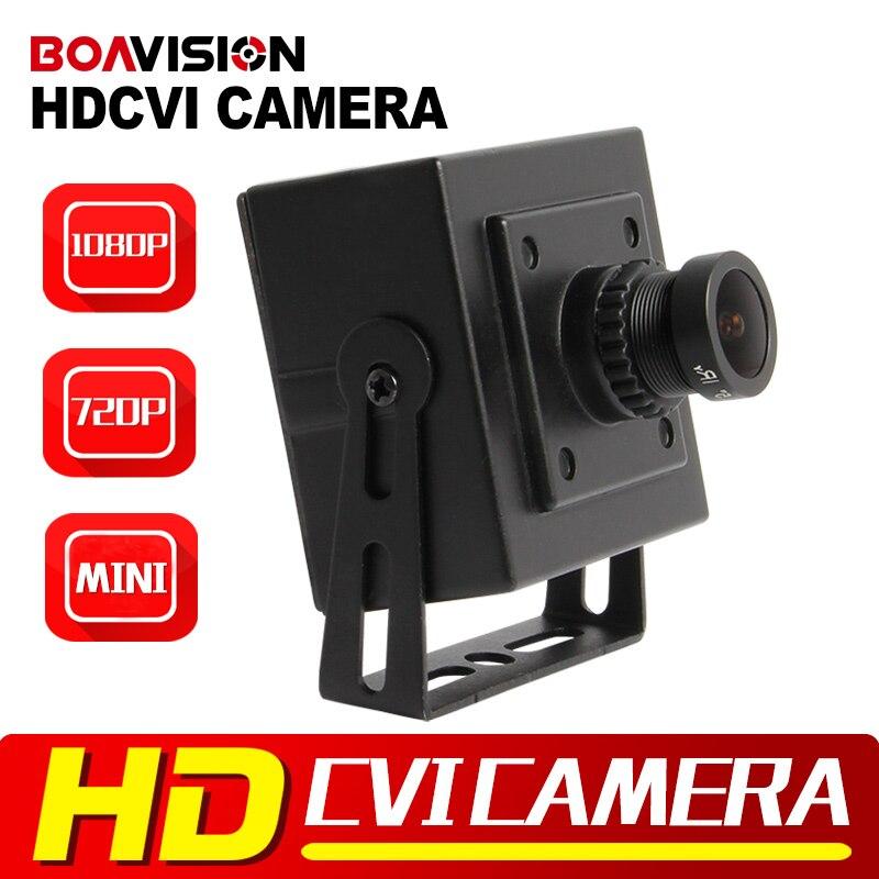 BOAVISION 2MP 1080P HD CVI Camera 720P 3.6mm Lens Super Mini Size 42*42mm CCTV 1.0MP HD CVI Camera For CVR DVR 1 2 9 1megapixel 720p 8mm lens 2 super ir led hd cvi camera