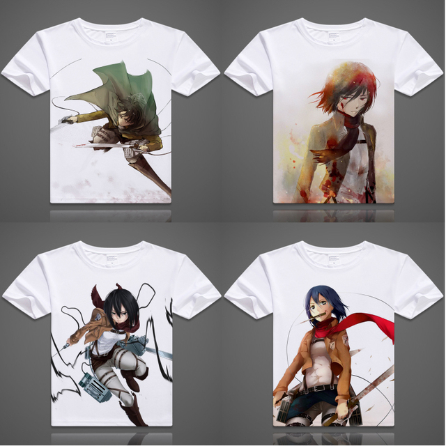 Attack on Titans Printed T-Shirt