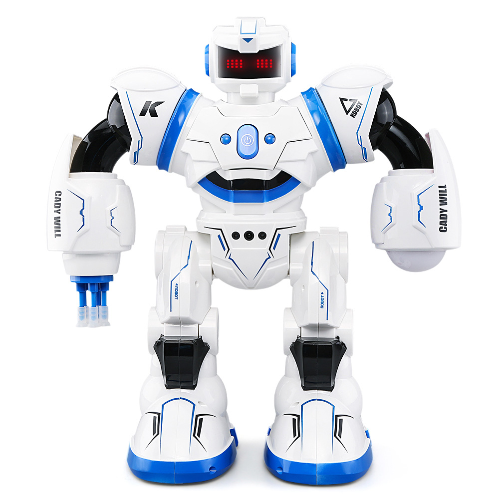 JJRC R3 RC Robots CADY WILL 2.4G RC Robot RTR Touch Gesture Sensor Combat Gameplay Programming RC Robots Toys Kids Xmas Gifts