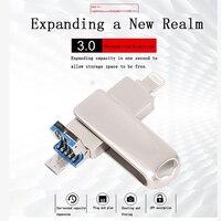 4 5 samsung USB Flash Drive For all Samsung S3/4/5 iPhone X/8/7/6s/5/SE/ipad Pen Drive HD Memory Stick 8GB16GB32GB64GB128GB Pendrive usb 3.0 (5)