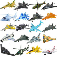 1Pcs metal Model Plane Toys Airplane Outdoor Launch Glider aircraft Kids Gift Aeroplane Toy Children Birthday Gifts For boy