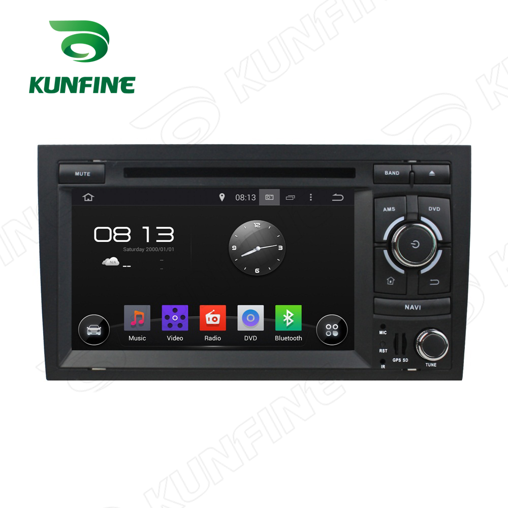 Octa Core 2GB RAM Android 6.0 Car DVD GPS Navigation Multimedia Player Car Stereo for Audi A4 2002-2008 Radio Headunit