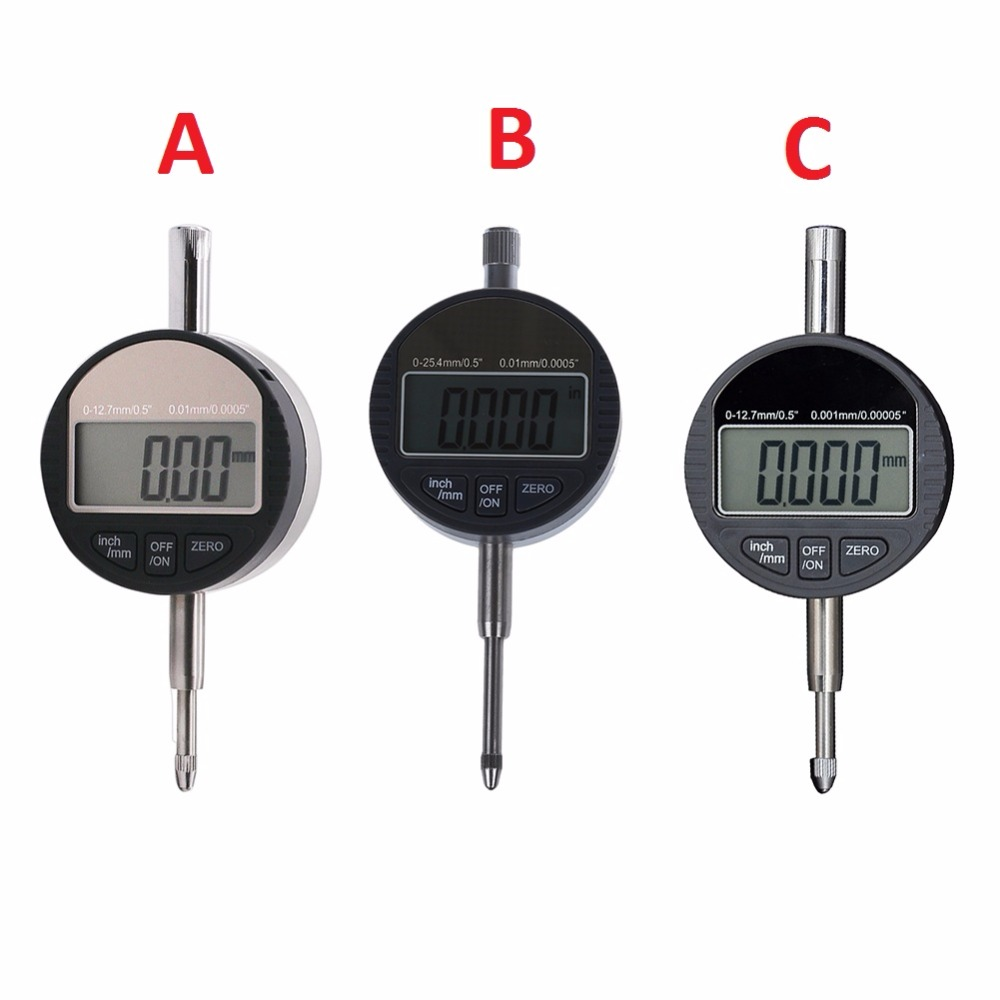 0.01mm/0.001mm Dial Micro Indicator Measurement Instrument Precision Digital Electronic Micrometer Gauge Tool quality professional precision tool 0 01mm accuracy measurement instrument dial indicator gauge stable performance hot selling