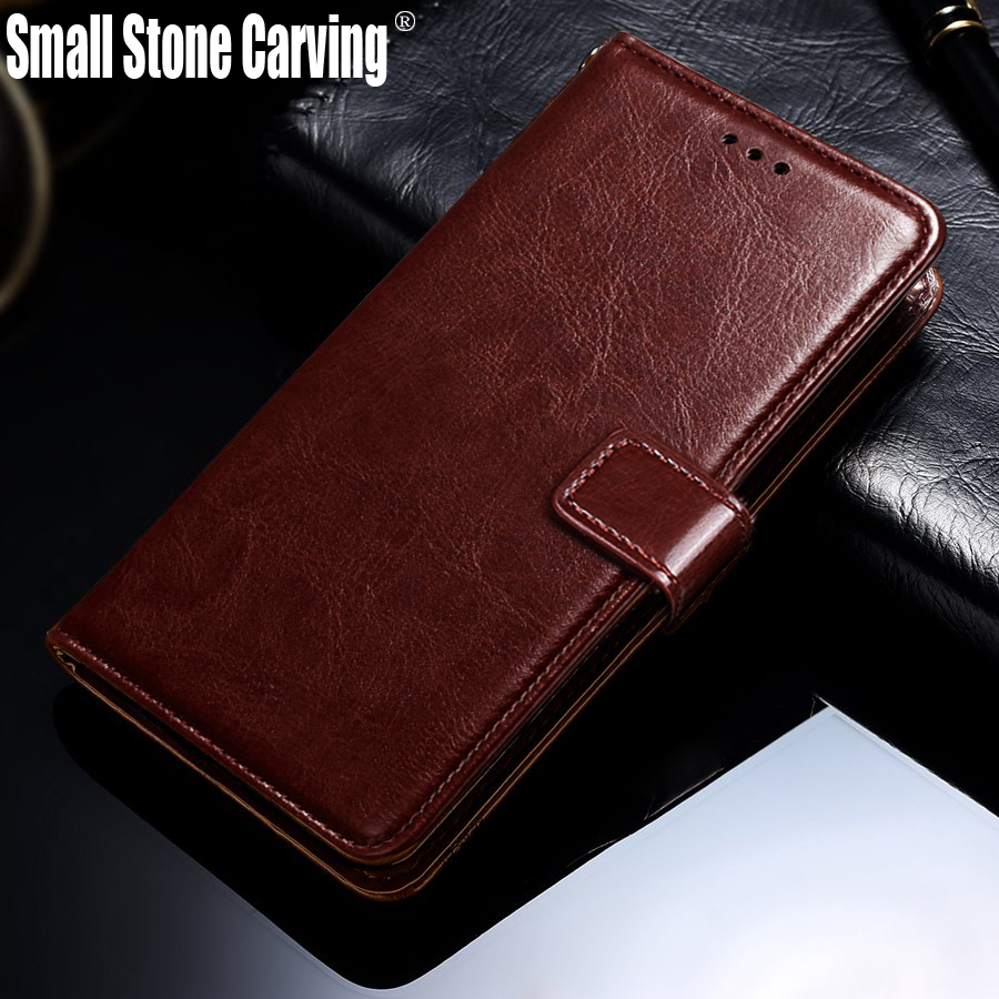 Leather Case For <font><b>Homtom</b></font> HT70 Wallet Flip Cover For <font><b>Homtom</b></font> HT <font><b>70</b></font> Luxury Protective Phone Bags Magnetic Vintage Card Holder Stand image