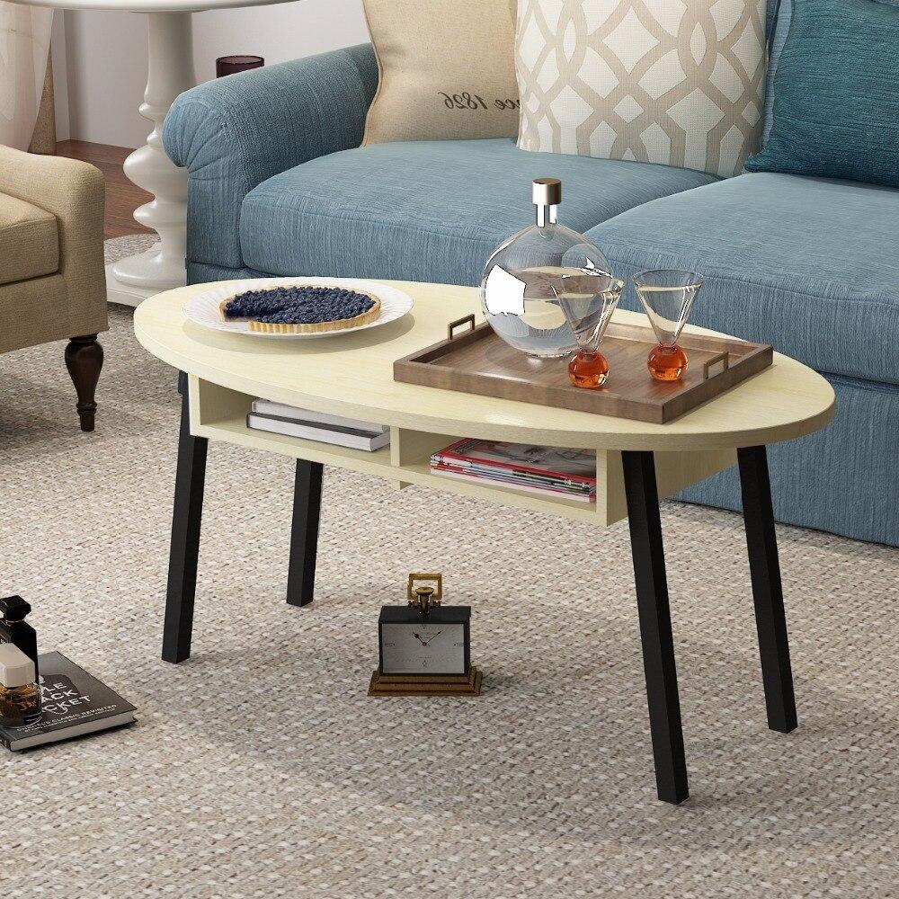 Nordic moderne einfache wohnzimmer couchtisch, oval mini ecke/tee ...