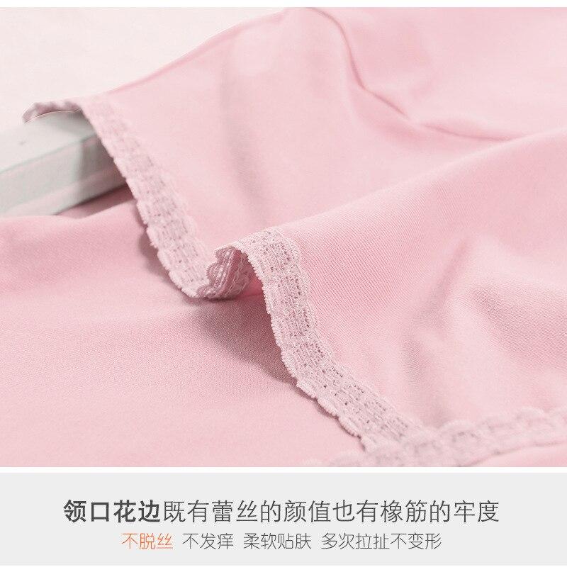 Modern Qiuyi Qiuku Set Breastfeeding Moonwear Underwear Autumn and winter Modal Pajamas Cotton Sweater in Sleep Lounge from Mother Kids